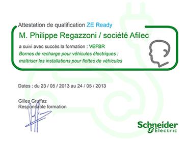 Afilec - Certificat ZE Ready